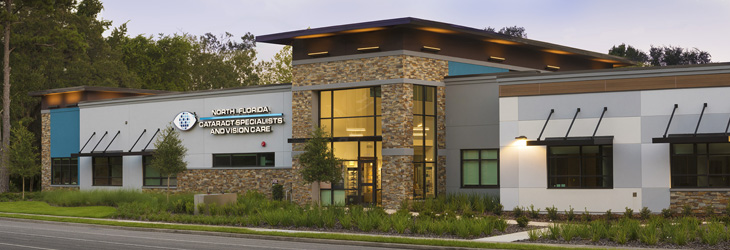 our gainesville eyecare office located on NW 8th avenue